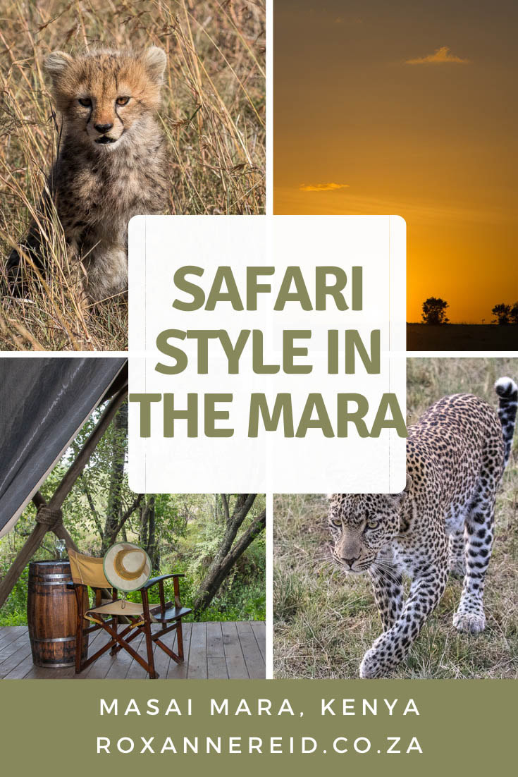 Mara Expedition Camp's safari style, Masai Mara, Kenya