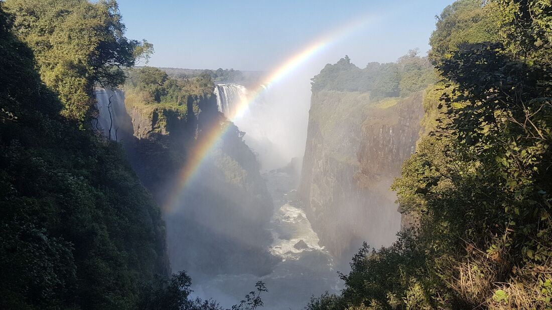 Tourist attractions in Africa: Victoria Falls